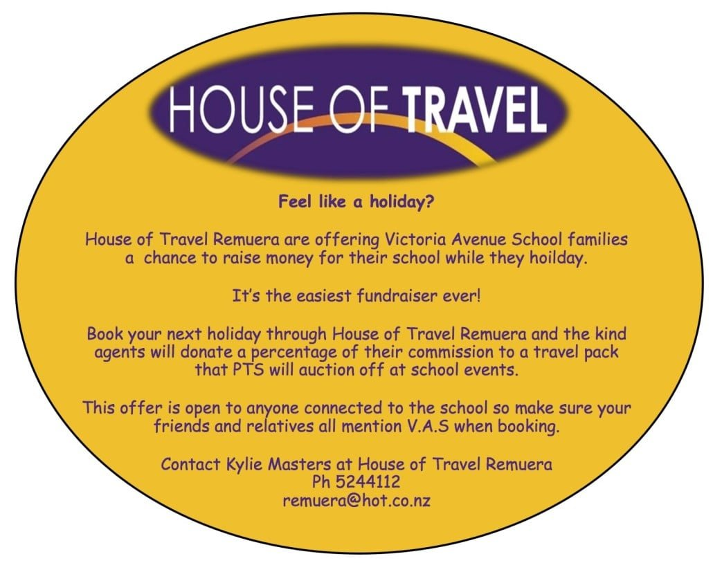house of travel page copy