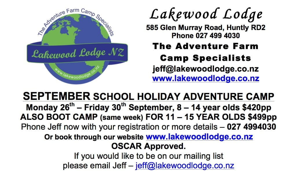Lakewood Lodge Ad